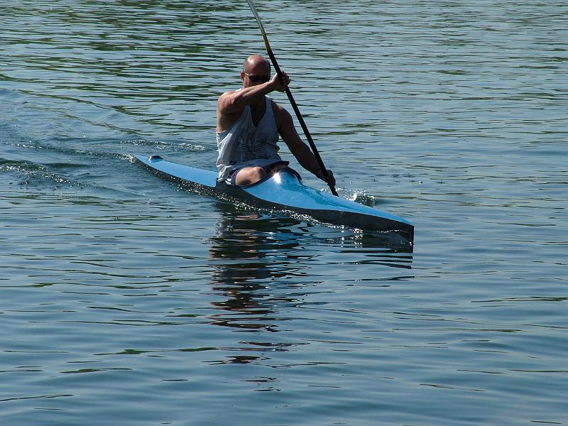 Racing kayak for adults